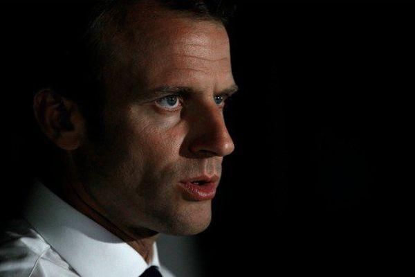 Emmanuel Macron à Saint-Martin