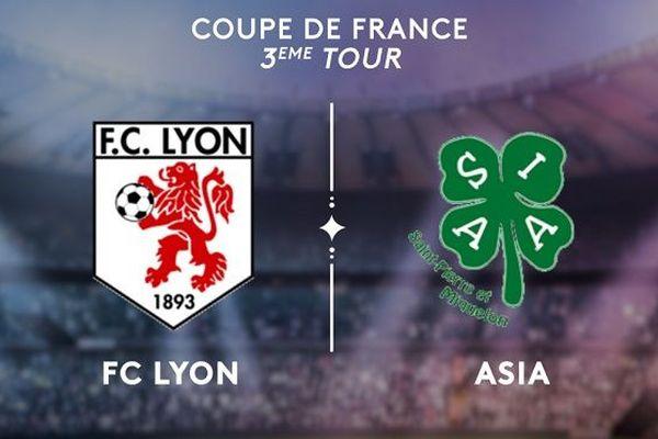 Troisième tour coupe de france ASIA FC Lyon