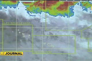 Une dépression faible concerne le Nord, le centre et l'Est des Tuamotu