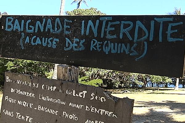 Interdiction de baignade à Hienghène