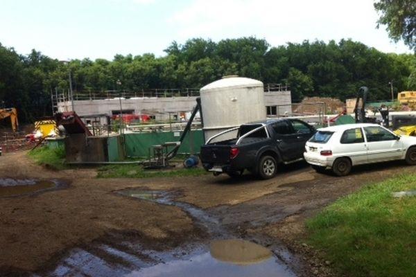 Accident de travail sur un chantierà Saint-Denis