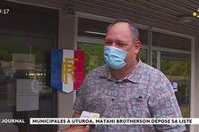Matahi Brotherson candidat à la municipale partielle d'Uturoa