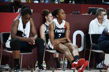 La déception était lisible sur les visages des Bleues, comme ici Sandrine Gruda, à l'issue de la défaite de la France en demi-finale du tournoi olympique de basket vendredi 6 août.