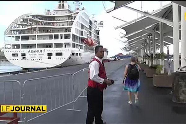 Croisière inaugurale pour l'Aranui 5