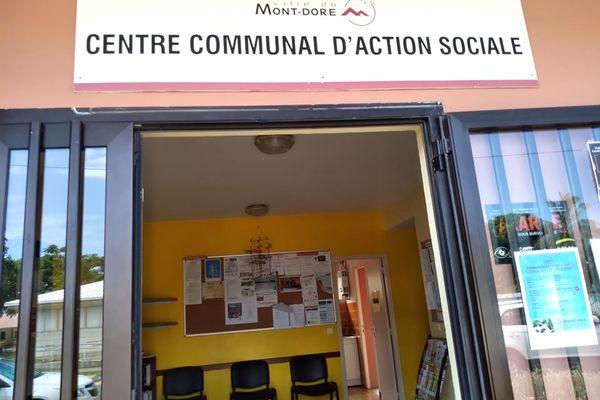 CCAS du Mont-Dore, Centre communal d'action sociale