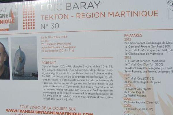 Présentation du marin Martiniquais