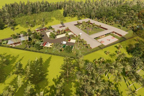 Le Centre Educatif Fermé à Montsinéry-Tonnégrande