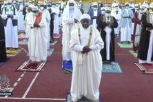 Prière de l'Aid-El Kébir à Bouéni