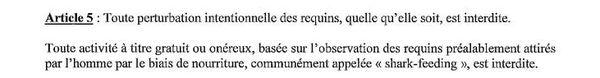 Article 5 de l'arrêté 23 avril 2013