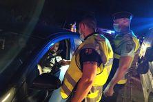 Opération Gendarmerie Savannah St Paul 23h-02h00