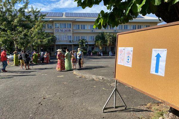 lycée paul gauguin / sénatoriales / élections