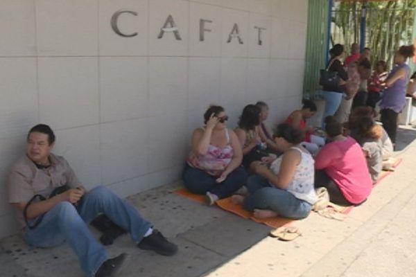 cafat grève