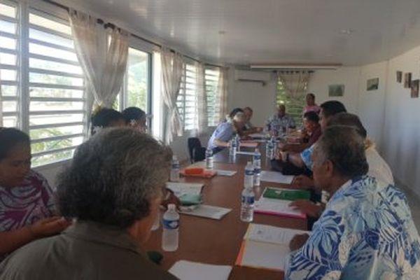 Réunio de l'OPMR à Futuna