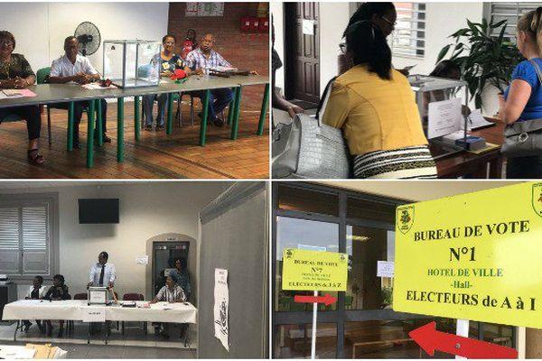 Premier tour des législatives en Guyane.