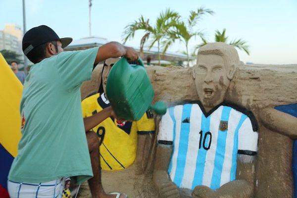 sculpture sable rio