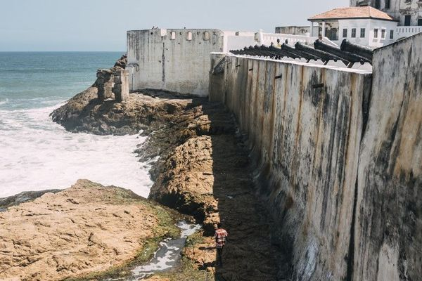 fort de cape coast ghana