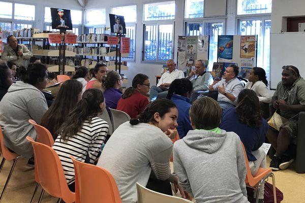 Troisième forum des médias lycée Jules-Garnier 24 juillet 2017