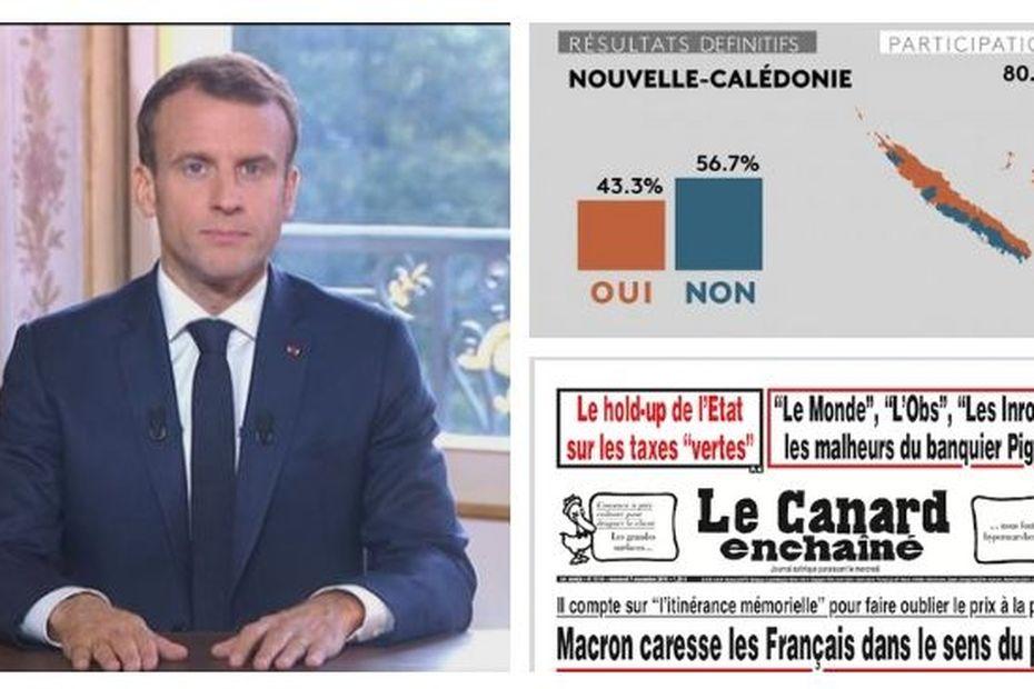 Référendum: l'analyse inquiète en privé d'Emmanuel Macron - Nouvelle-Calédonie la 1ère