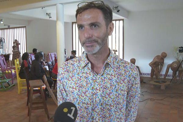 Cédric Mistral coordinateur Prix Carbet des lycéens