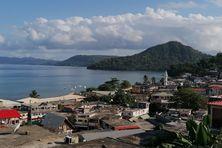 vue sur le lagon de Mayotte