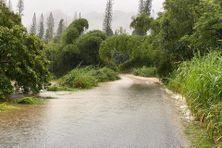 Inondation sur la côte Est