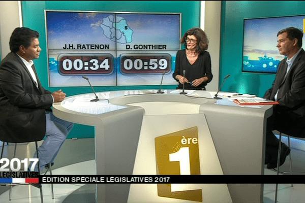 5ème circonscription : Jean-Hugues Ratenon / Daniel Gonthier