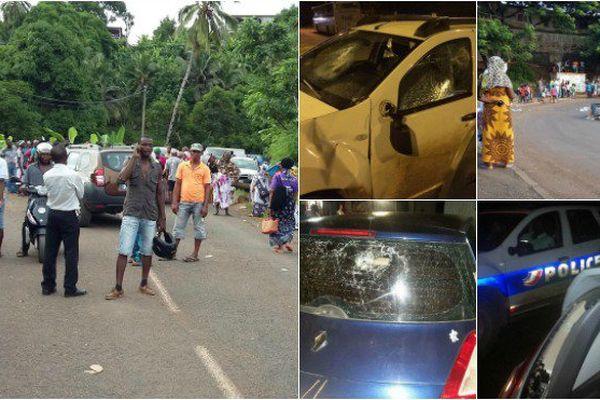 Incidents et barrages à Mayotte