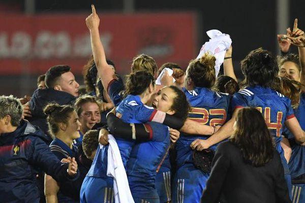 Rugby : les Françaises remportent le Tournoi des six nations