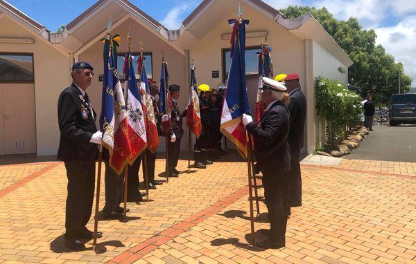 Veillée de Bertrand Pimé à Nouméa, anciens combattants, 11 janvier 2019