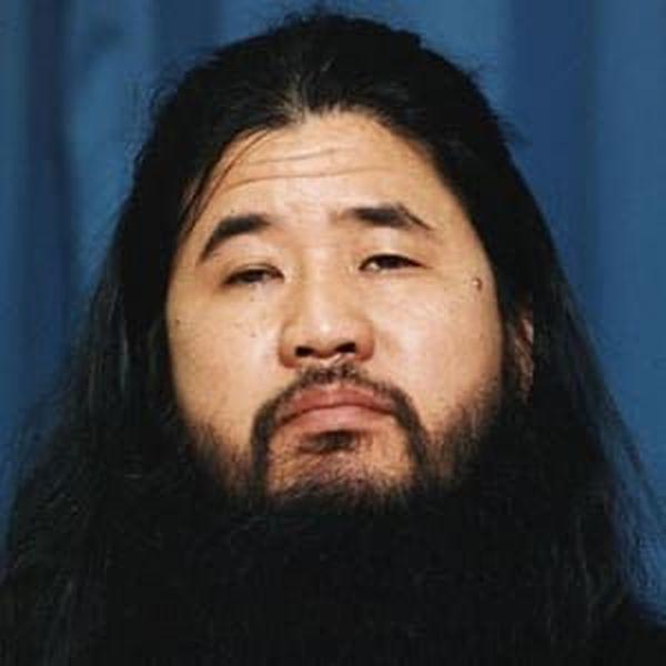 Shoko Asahara, gourou de la secte Aum en 1995
