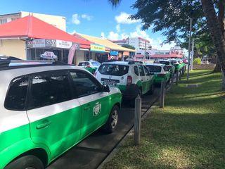 Débrayage de taxi après agression d'une chauffeure à Nouméa, 26 juin 2018