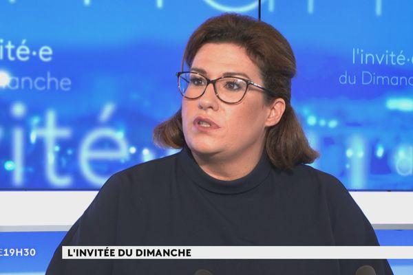 Sonia Backès invitée du JT, 21 mars 2021