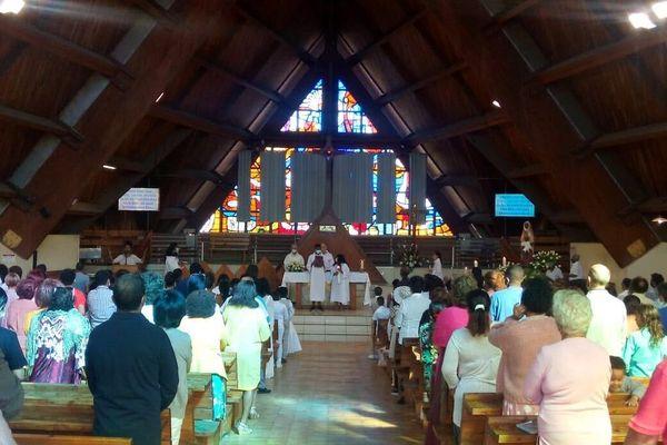 Messe assomption église ravine blanche