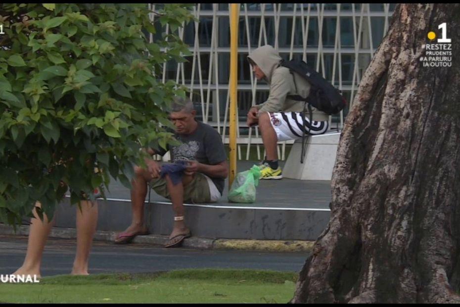 Déconfinement : les sans-abri de nouveau à la rue - Polynésie la 1ère