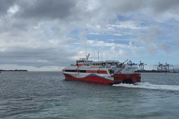 départ de l'Express des Îles
