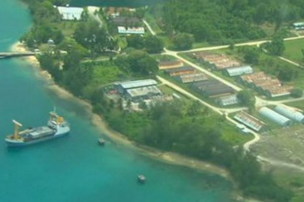 Le centre de rétention australien situé à Manus, en Papouasie-Nouvelle-Guinée