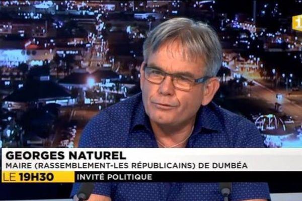 Georges Naturel : maire de Dumbéa
