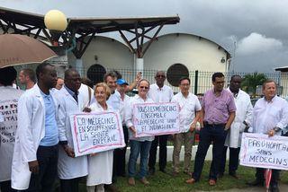 Manifestation des médecins urgentistes