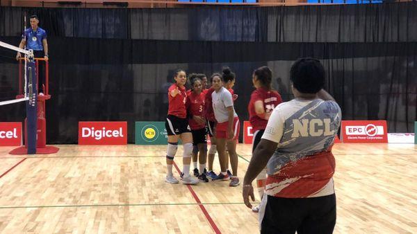 Samoa 2019, victoire des volleyeuses de Calédonie contre Tahiti