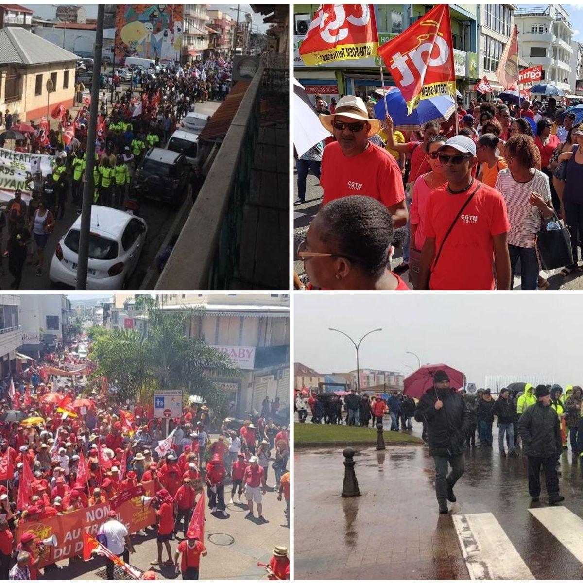 De la Guyane à la Polynésie, forte mobilisation en Outre-mer contre la réforme des retraites