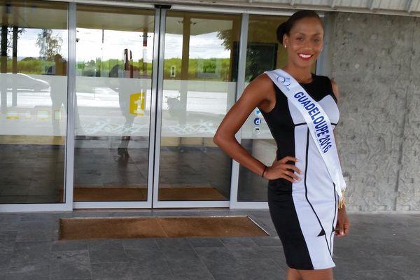 Morgane Thérésine, la grâce d'une Miss Guadeloupe