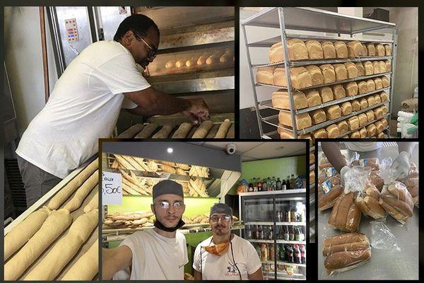 Boulangers durant le confinement