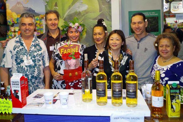 Succès pour Tahiti au salon de la gastronomie en France