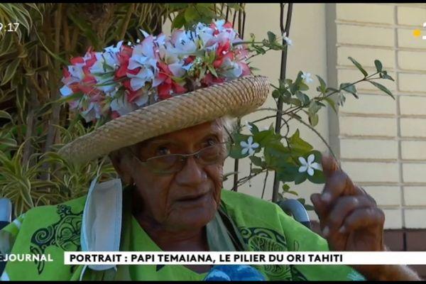 Teupo Temaiana : une vie consacrée au ori Tahiti