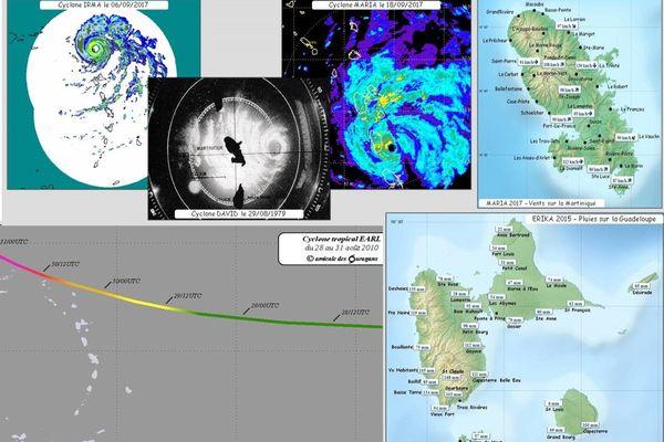 Atlas des cyclones des Antilles françaises