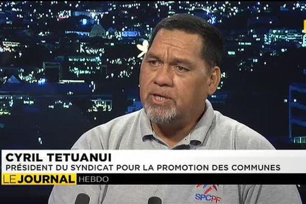 Cyril Tetuanui président du Syndicat pour la Promotion des Communes 01.