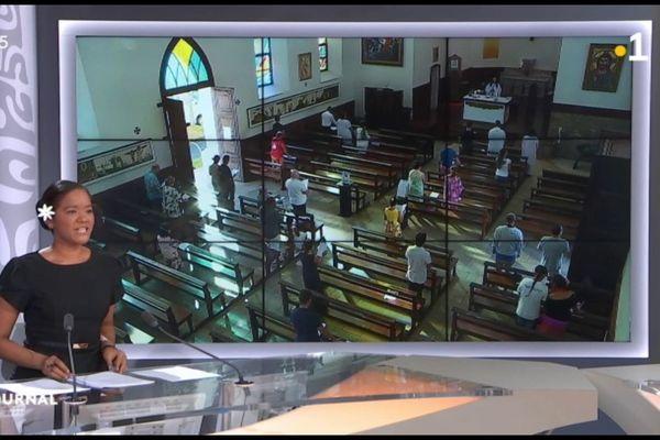 Messe : les fidèles retrouvent le chemin des Eglises