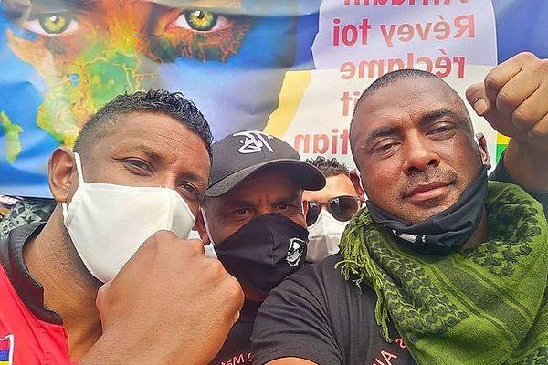 Bruneau Laurette, leader des manifestations à l'île Maurice