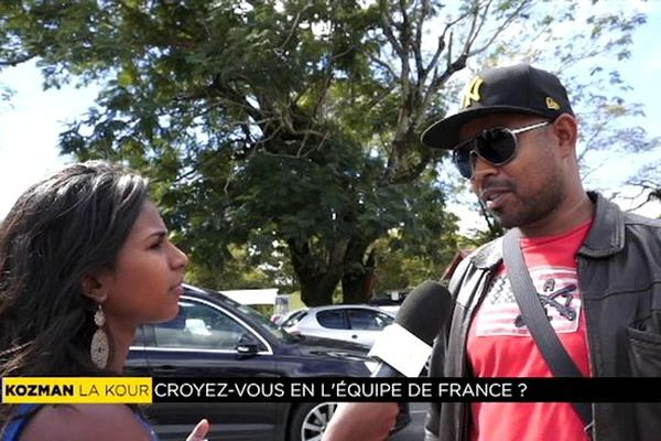 """Kozman la kour : """" Croyez-vous en l'équipe de France ? """""""