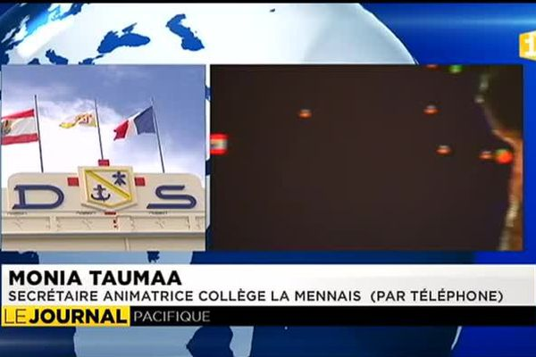 Séisme au Chili : inquiétude de parents d'élèves de La Mennais